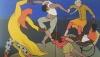 """Gemälde vom Künstlerinnenkollektiv """"The Rip Off Crew"""""""