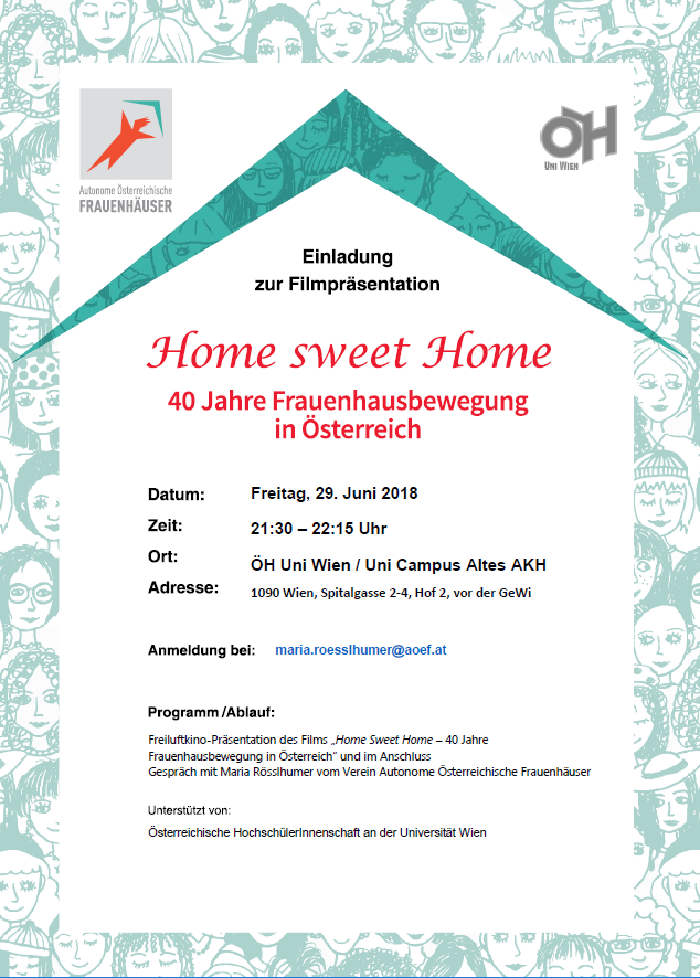 HomeSweetHome OEH UniWien 29 06 2018